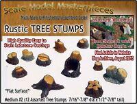 Scale Model Masterpieces OLD TREE STUMPS-MEDIUM #2 (12pcs) Multi Scale