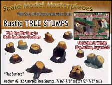 Scale Model Masterpieces OLD TREE STUMPS-MEDIUM #2 (12pcs) Multi Scale