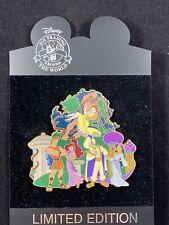 Disney Pin - Heroes Girls Tarzan Jane Jasmine Aladdin Hercules Meg LE JUMBO