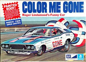 """MPC Roger Lindamood """"Color Me Gone"""" 1972 Dodge Challenger Funny Car"""