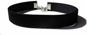 15mm Gothic Velvet Hippy Choker Necklace For Women