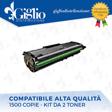 2 TONER SAMSUNG ML 2160/ 2165 / 2166 SCX 3400 SF 760 MLT D101S NERO COMPATIBILE