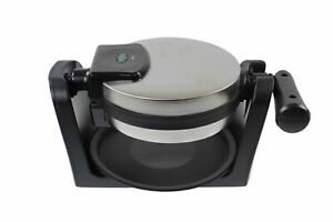 Quest Electric Rotating Waffle Maker Machine Stainless Steel Non Stick Plate
