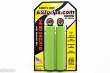 Racer's Edge Green ESI Handlebar Grips Silicone