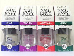 OPI Nail Envy Collection, Dry Brittle Nails, Soft Thin Nails, Original & Matte!!