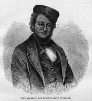 TORONTO CANADA FUGITIVE SLAVE JOHN ANDERSON CHARGED WITH 1853 MURDER IN MISSOURI