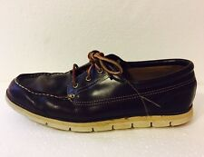 Timberland Sensorflex Brown Leather Loafers Boat Shoes Driving Mocs Size 13 M