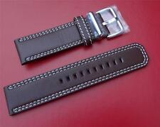 SEIKO LEATHER BAND STRAP WATCHBAND FLIGHTMASTER  SNAB67, SNAB69, SNAB71, SNAB73