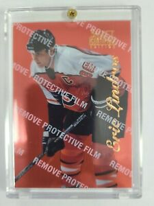 1996-1997 Pinnacle Select Certified Red- Eric Lindros