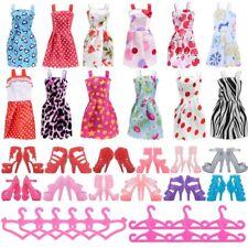 Barbie Doll Accessories Mattel Dolls Fashion Design Dresses Shoes Hangers Girls
