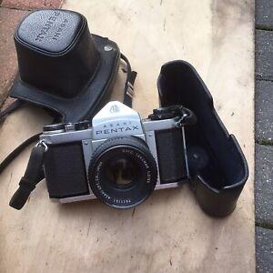 Vintage Pentax Asahi SV Film Camera Untested