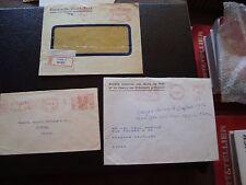 EUROPE - 3 enveloppes sans timbres (B3)