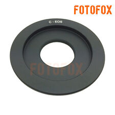 C-EOS C Mount Movie CCTV 16mm Lens to Canon EF 7D 20D 5D 650D 700D 1000D Adapter