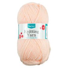 Sparkle Powder Pink Knitting Yarn 50g