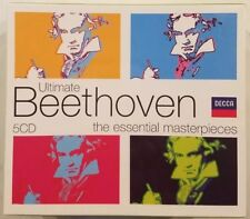 Ultimate Beethoven The Essential Materpieces (5 CD Box Set) Decca. NEW