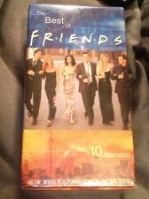 The Best of Friends 10 Fan Favorites (2 Pack VHS Volume 1 and 2) Sealed Comedy