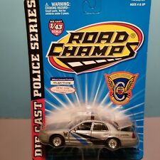 ROAD CHAMPS (6431-01) 1:43 SCALE DIECAST METAL COLORADO STATE POLICE CAR