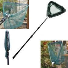 185cm Telescoping Aluminum Alloy Pole Foldable Fishing Brail Landing Net LS P3L1