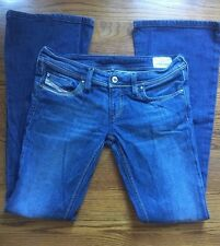 Diesel Lowky B.C. Boot Cut #08BB Med Wash Jeans Sz 28 X 32 (P#1285)