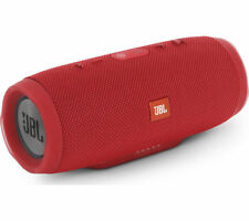 JBL Charge 3 Portable Bluetooth Wireless Speaker - Red - Currys