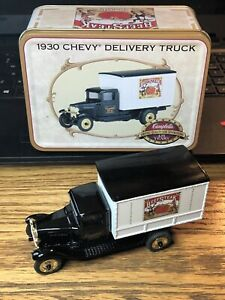 VINTAGE ERTL 1930 CHEVY DELIVERY TRUCK DIE CAST TRUCK CAMPBELL 125 YEARS !