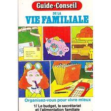 GUIDE CONSEIL DE LA VIE FAMILIALE Conseils Diététique... SKIP LEVER 1976 T1 RARE