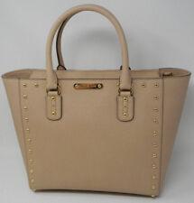 New Michael Kors Blush Gold Sandrine Stud Large Leather Tote Crossbody Bag $468