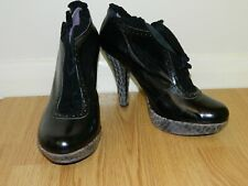 Poetic Licence By Irregular Choice Women's High Heel Ankle Shoe Boots Size UK 7