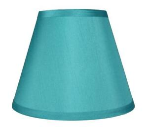 "Urbanest Hardback Faux Silk Coolie Lamp Shade, 5x9x7"", Cream"
