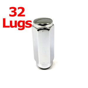 "32x Excalibur 3209HD Lug Nuts 14x1.50 Acorn 7/8"" Hex 2.4"" HD Duplex XL XX Long"