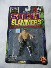 "Hollywood Hulk Hogan STEEL SLAMMERS 3"" Diecast Wrestling Action Figure WCW NWO"