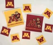 University Of Minnesota - Iron On Fabric Appliques - Sports Patches