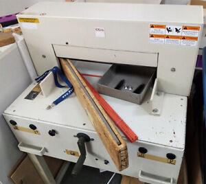 IDEAL 4850 elektrischer Stapelschneider Schneidmaschine gebraucht