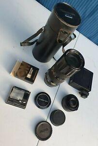 Tamron Lens with Case & Accessories for Olympus