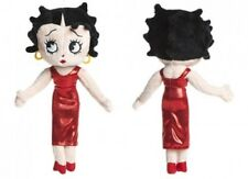 Betty Boop Plush Doll Wearing Red Cocktail Dress, 24cm