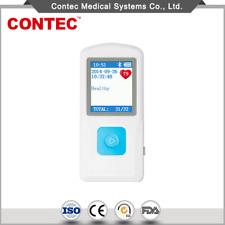 Us Handheld Ecg Ekg Portable Monitor Electrocardiogram Lcd Display Bluetooth App