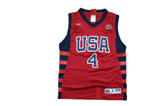 Maillot basket vintage USA N°4 Iverson