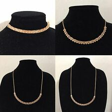 Kendra Scott Adjustable Lucy Choker Necklace Rose Gold CZ accents MSRP $110