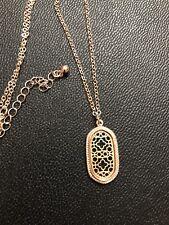 Rose Gold Necklace Dangle Design by Isabel J. Scott Adjustable