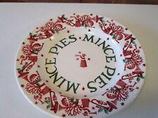 """Emma Bridgewater Joy Trumpets Mince Pies 8.5"""" Plate - New"""