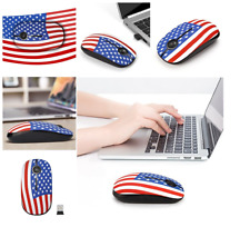 USA! Bluetooth Wireless Optical Mouse Mini Mice USB Black for Laptop PC Computer