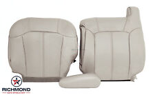 2001 Chevy Tahoe Z71 -Driver Side COMPLETE Replacement Leather Seat Covers TAN