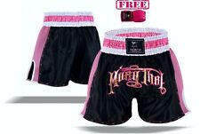 EVO Ladies Muay Thai Shorts Girls MMA Kick Boxing Martial Art Women Fight Gear H