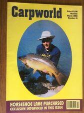 Carpworld Number 21 Magazine Carp Early Back issues