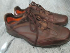 TIMBERLAND MENS BROWN LEATHER LACE UP/ OXFORD SHOES, SIZE 8.5M
