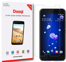 6X Dooqi HD Clear LCD Screen Protector Shield Cover Guard For HTC U11 / U 11