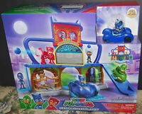 PJ Mask  Play set multicolor Headquarters and PJ Masks characters NEW Sealed Toy
