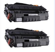2-Pk/Pack HP Q7553A 53A Toner For HP LASERJET P2015 M2727 MFP M2727nf MFP P2015d