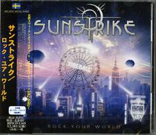 SUNSTRIKE-ROCK YOUR WORLD-JAPAN CD BONUS TRACK F25