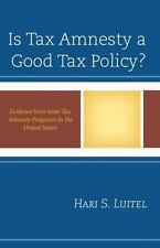 Is Tax Amnesty a Good Tax Policy?: Evidence from State Tax Amnesty Programs in t